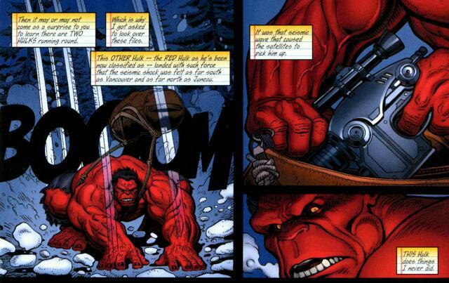 rulk review kingsize hulk issue 1 redhulkblogcom